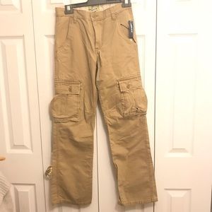 Old Navy Straight Cargo khaki Pants Size 16